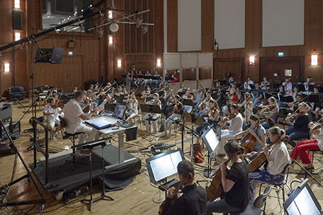 Synchron Stage Orchestra recording VSL's Big Bang Orchestra Library