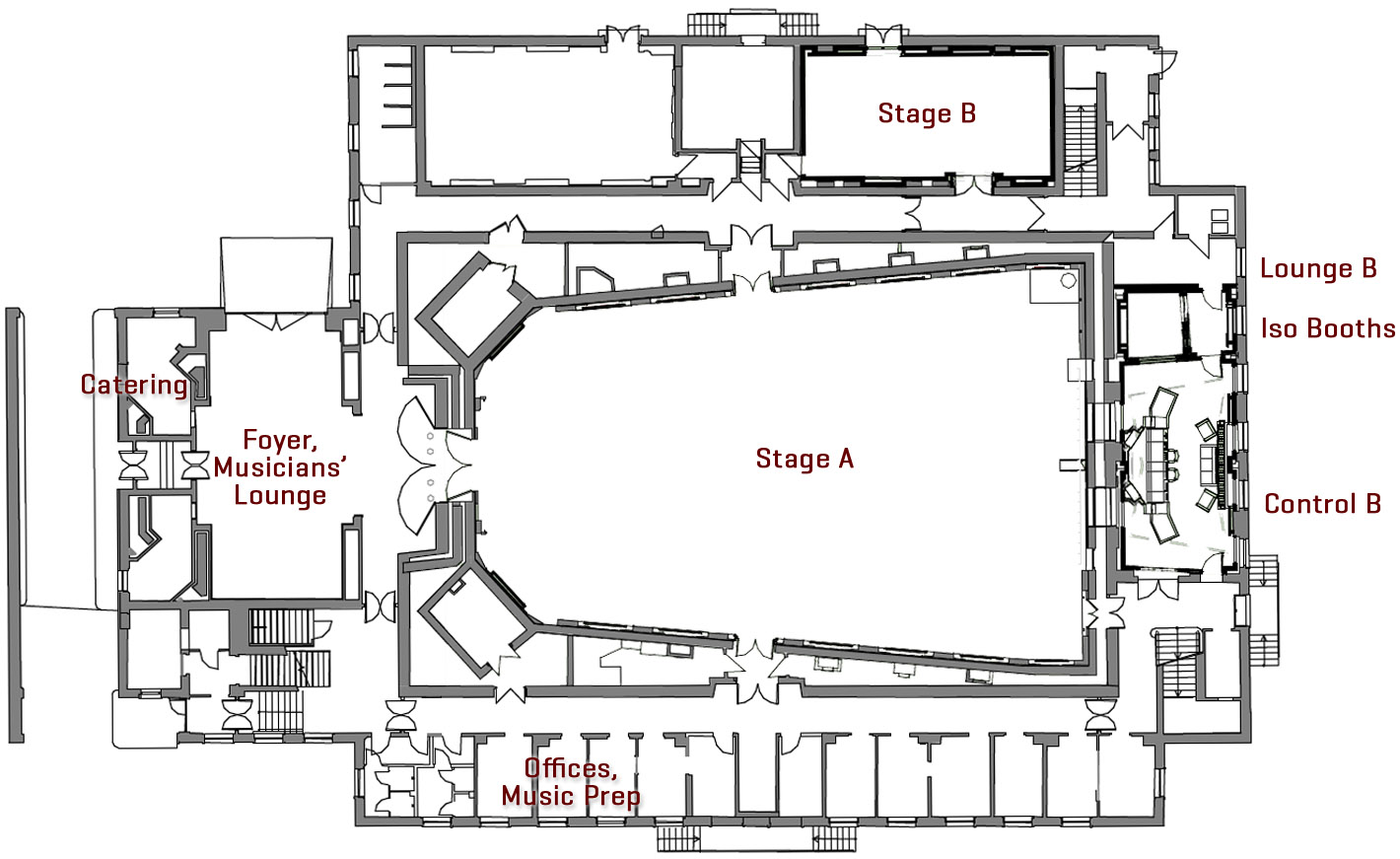 Floorplan Ground Level