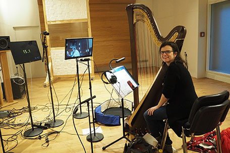 Harp, iso Booth