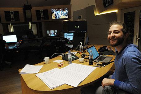 Max Aruj, Assistant to Lorne Balfe