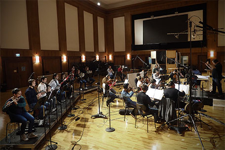 Synchron Stage Orchestra playing the score for Comrade Detective.