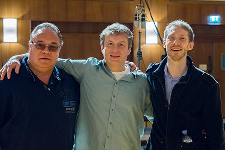 Dimitrie Leivici, Johannes Vogel, Shane Rutherfoord-Jones