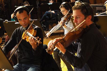 Genius, strings section