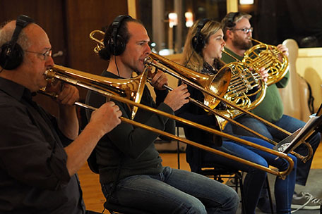 Genius, brass section