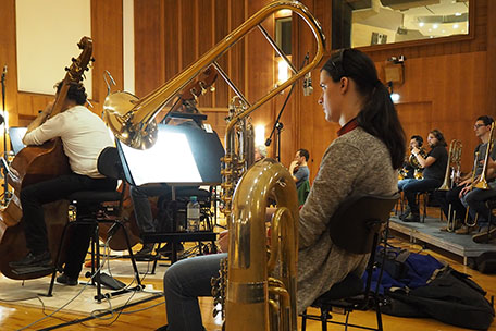 Ghost in the Shell, cimbasso & tuba