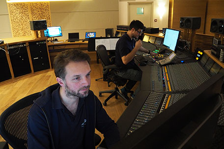 Recording Ghost in the Shell, Control A
