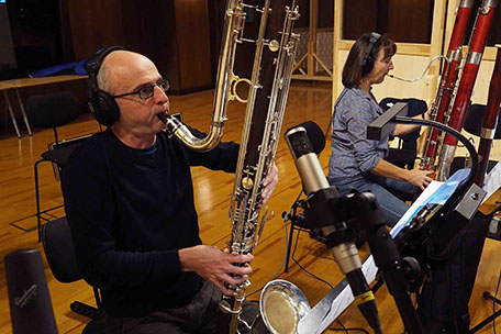 Contrabass clarinet & double bassoon