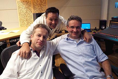 Johannes Vogel, Marius Ruhland, Peter Fuchs
