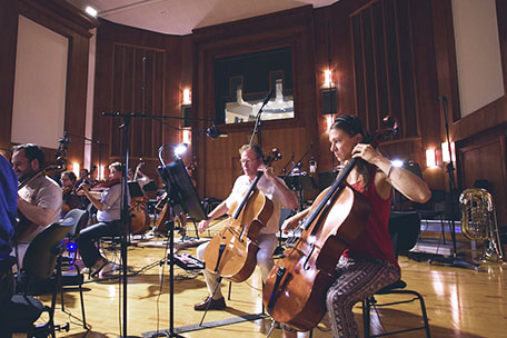 Sky Hunter - Synchron Stage Orchestra, String Section