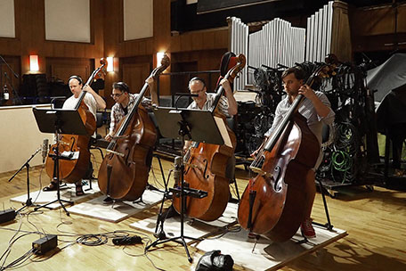 Double-basses, Synchron Stage Orchestra